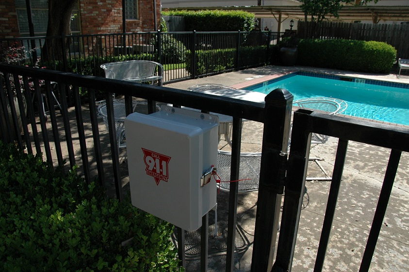 Emergency 911 Pool Phone