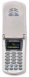 Motorola 911 cellular phone with cellular phone accessories
